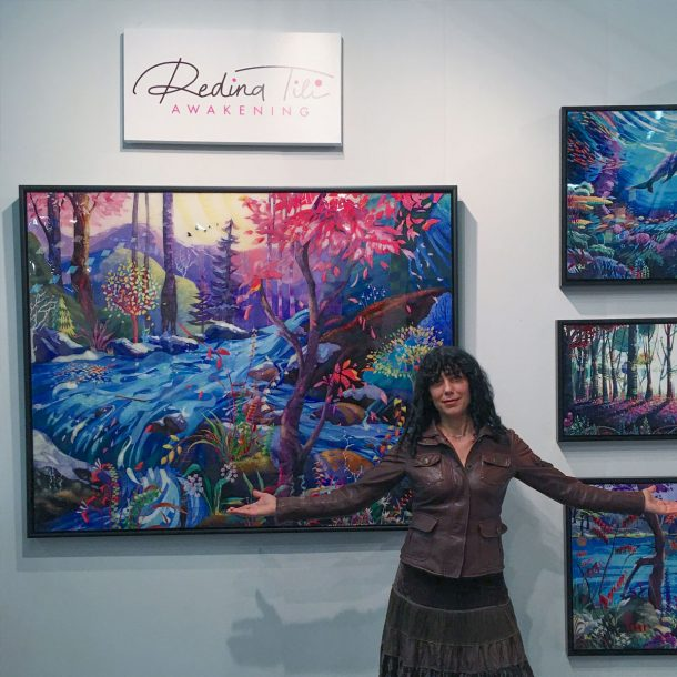 My new art unveiled at ArtExpo