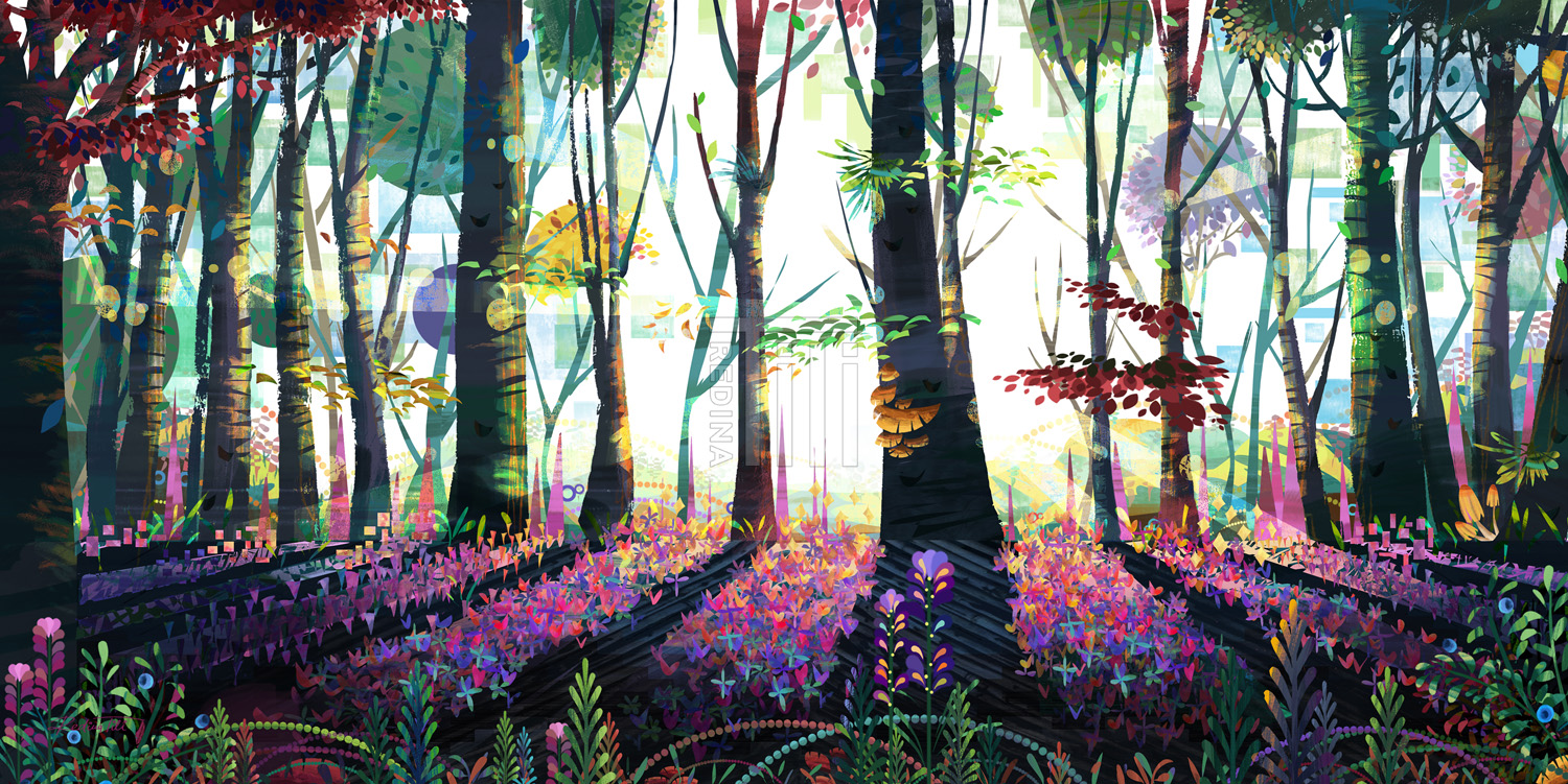 The Forest of Butterflies