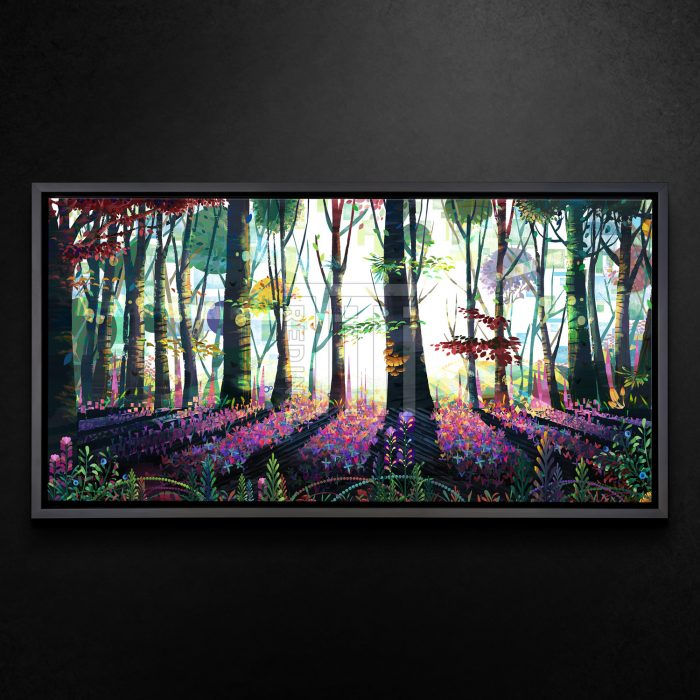 Forest of Butterflies - Limited Edition Metal